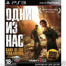 The Last of Us Game of the Year Edition (PS3, 2015) Russian/ English version