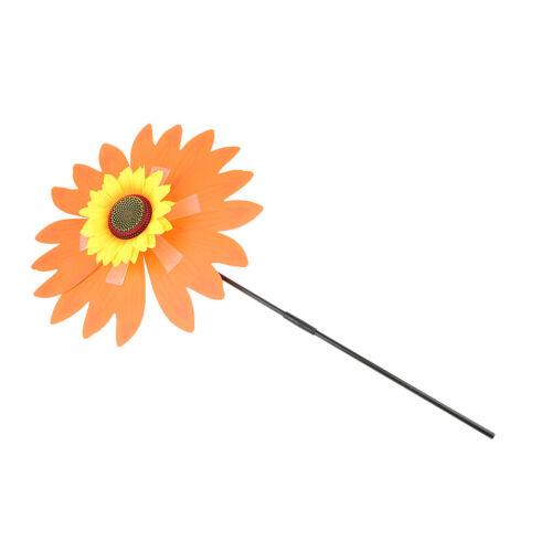 Sun Flower Wind Spinner Decoration for Camping Tent Beach Sun Shelter Garden