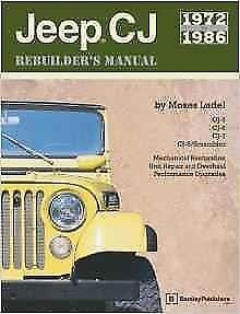 jeep cj 5 6 7 8 scrambler cj5 cj6 cj7 restoration rebuild manual rh ebay com