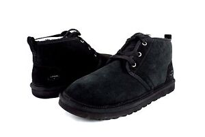 Image is loading UGG-Neumel-Twinface-Black-Sheepskin-Wool-Boots-US-
