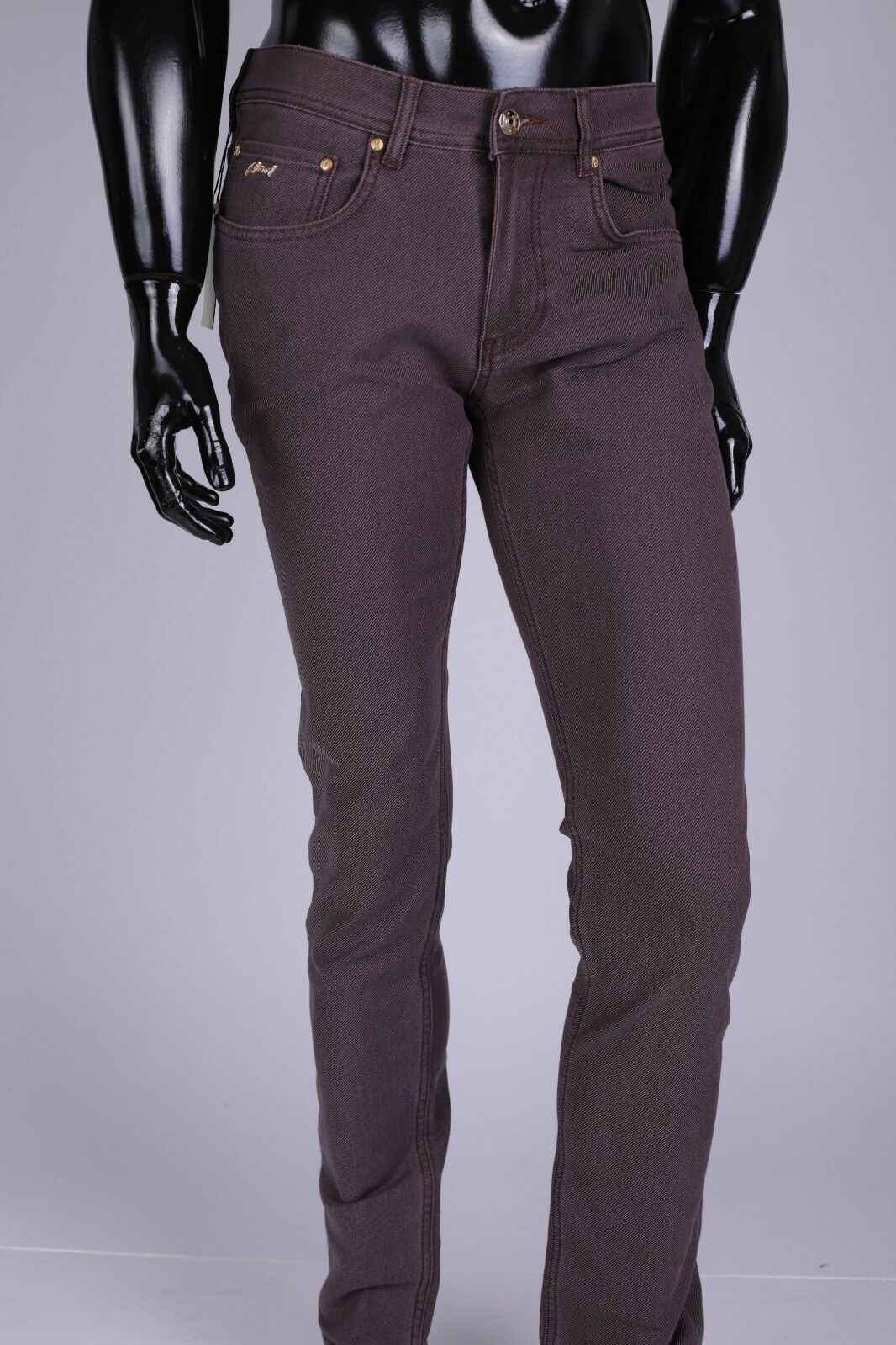 Brand new 639  Men's Brioni Jeans W34,Brown NEW