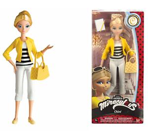 Miraculous-Ladybug-Fashion-Doll-CHLOE-10-5in-25cm-39745-Bandai-Free-Shipping