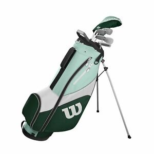 Damen-Wilson-ProStaff-SGI-Golf-Halbsatz-2020-Eisen-5-7-9-SW-und-PW-Holz-5-BAG