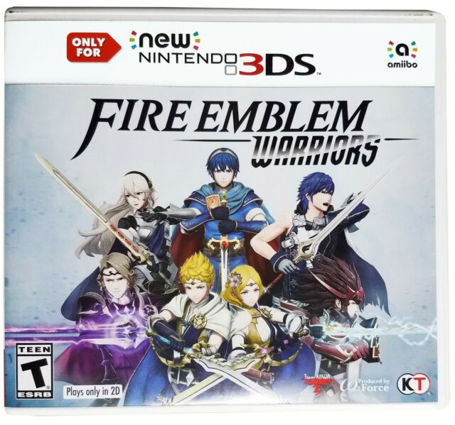 Fire Emblem Warriors Video Game (Only for New Nintendo 3DS, 2017) W-Force