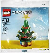 2013 LEGO Creator #30186 Christmas Tree Winter Village New Sealed Polybag