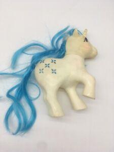 Majesty G1 My Little Pony Vintage 1983 Hasbro Unicorn White Blue Hair MLP 83
