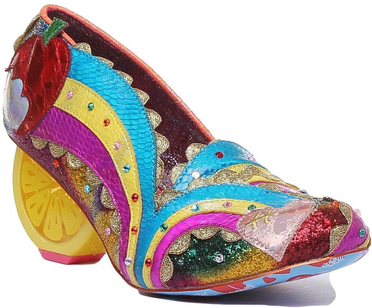 Irregolare scelta Sunshine Splash donna Heel scarpe in Multi  Coloree Dimensione UK 3 - 8  vendita scontata online di factory outlet