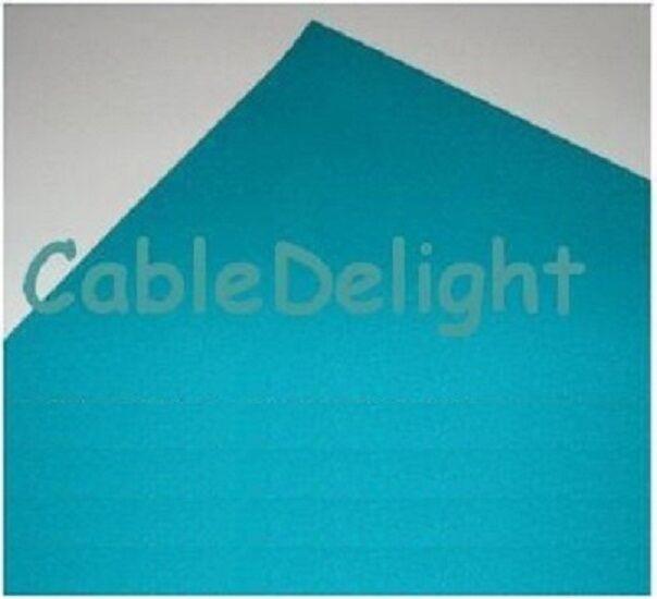 4 X PAR 64 115 PEACOCK BLUE Lighting Filter Colour Effect Gel Theatre Lights LED