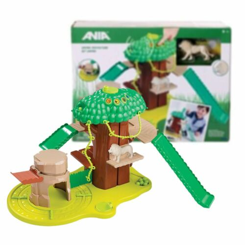 New Ania Safari Adventure Playset & White Lion Figure Animal Official