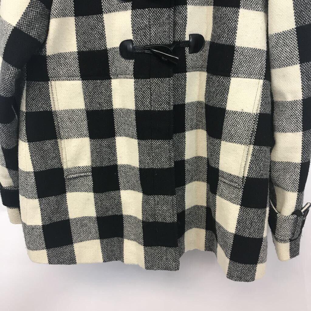 American Rag youth Duffel coat black/ white Buffa… - image 3