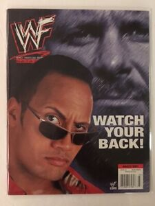 WWF-Magazine-2001-March-Rock-Watch-Stone-Cold-Steve-Austin-Trish-Strat-er