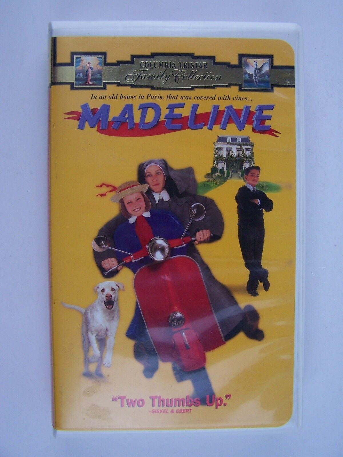 Madeline VHS Video Tape Frances McDormand, Nigel Hawtho