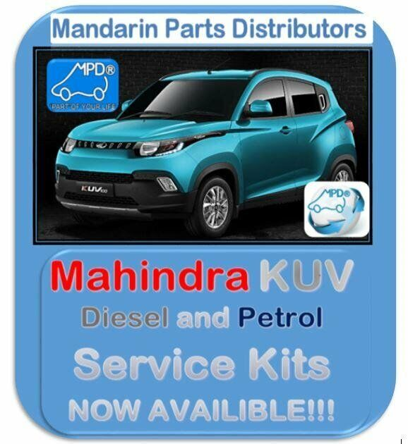 MAHINDRA REPLACEMENT PARTS - KUV100 SERVICE KIT - DIESEL AND PETROL NOW AVAILABLE
