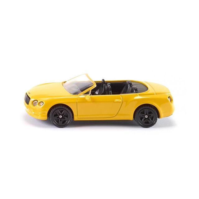 SIKU 1507 Bentley Continental Gt V8 Convertible Yellow Model Car (Blister) New