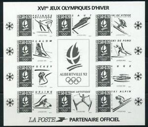 Francia-1992-Olimpiadi-Albertville-Yvert-blocco-14b-500
