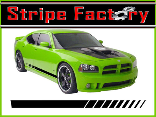 FITS OR FOR Dodge Charger Strobe Rocker Decal  2006-2010