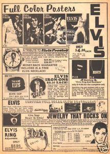 ELVIS-NOVELTIES-PINUP-mag-ad-Presley-jewelry-poster-etc