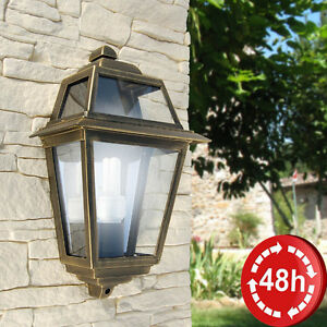 Plafoniere Esterno Illuminazione.Dettagli Su Plafoniera Lanterna A Parete Lampada E27 Classica Quadra Illuminazione Esterno
