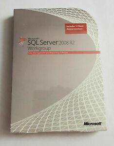 Microsoft SQL Server 2008 R2 Workgroup- Englisch - 5 Cal -A5K-02817 - inkl. MwSt