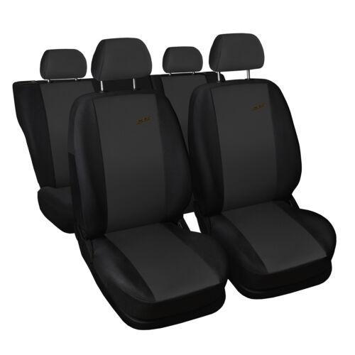 Fiat Stilo Dunkelgrau Universal Sitzbezüge Sitzbezug Auto Schonbezüge XR