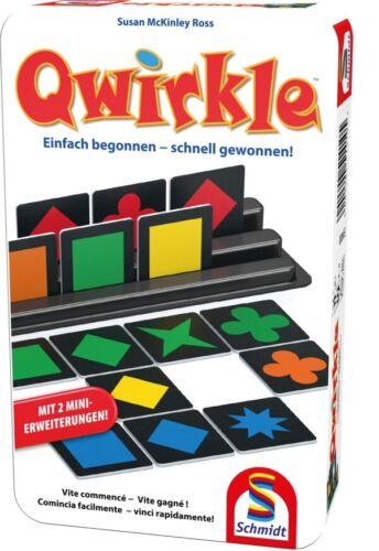 Schmidt Spiele Qwirkle Bring-mich-Mit-Spiel in der Metalldose