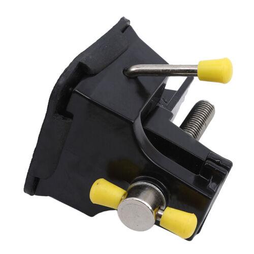 38 mm Ventouse Pince plate Pince en Alliage d/'Aluminium Micro Gravure Luminaire étau G