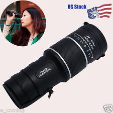 US Stock Super High Power 40X60 Portable HD OPTICS Outdoor Monocular Telescope