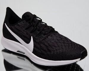 0bfa38dc5 Nike Air Zoom Pegasus 36 Mens Black White Sneakers Running Shoes ...