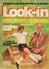 Look-In Magazine No.35  23 August 1975  The Sweet  Bay City Rollers  Bruce Rioch
