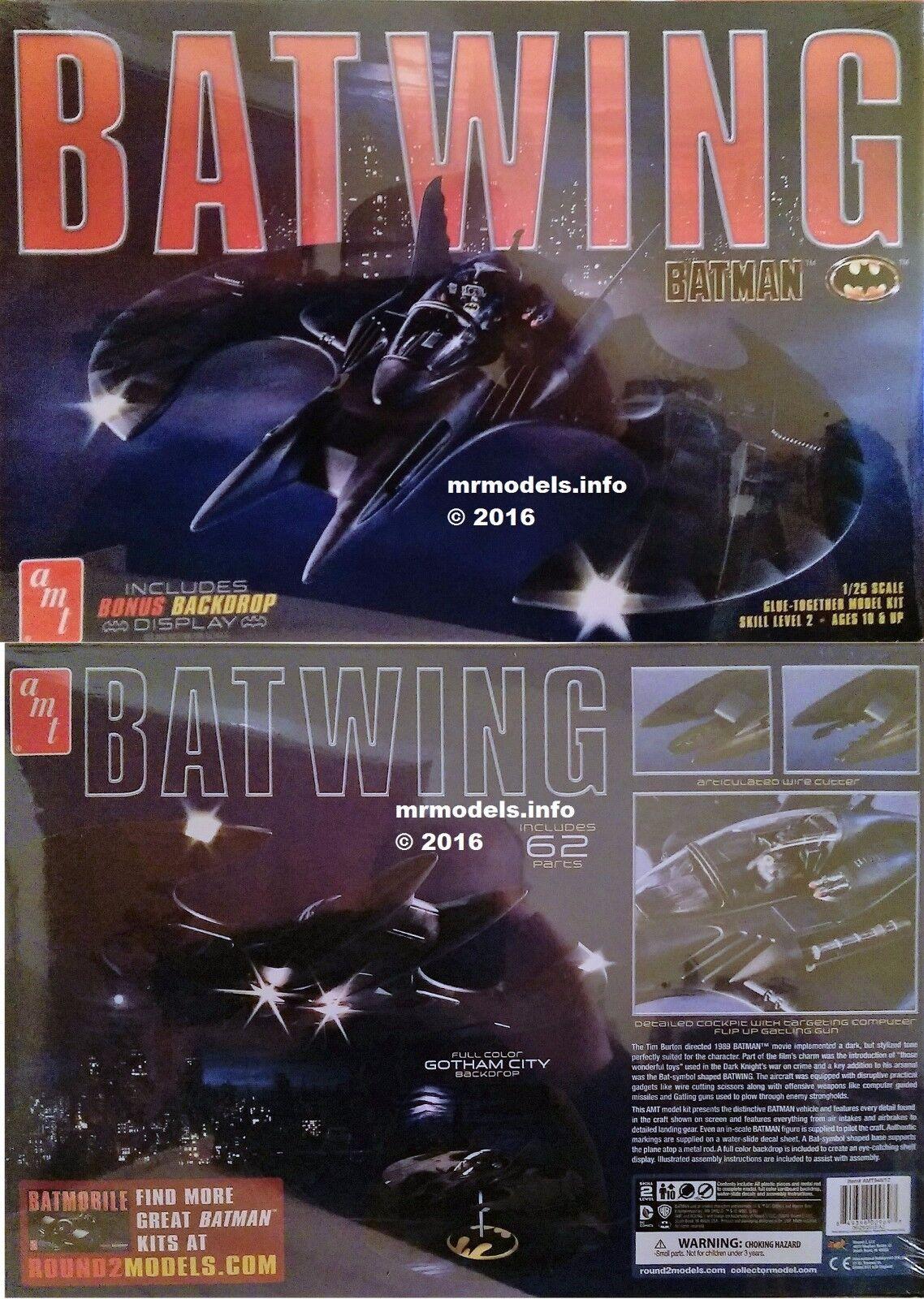 AMT 1 25 Batman Batwing New Plastic Model Kit AMT948 12 948
