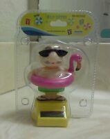 Solar Power Dancing Swimming Grandfather...(●_●).(●_●).(●_●)..
