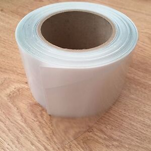 Clear Carbon Fibre Effect Helicopter Bike Frame Paint Protection Vinyl Tape