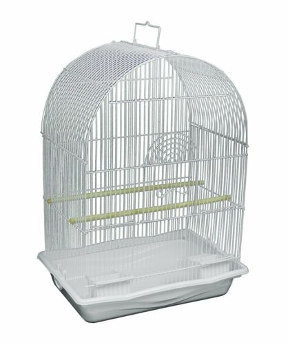 Prevue Pets White Arched Top Companion Bird Cage by Prevue Pet Products New