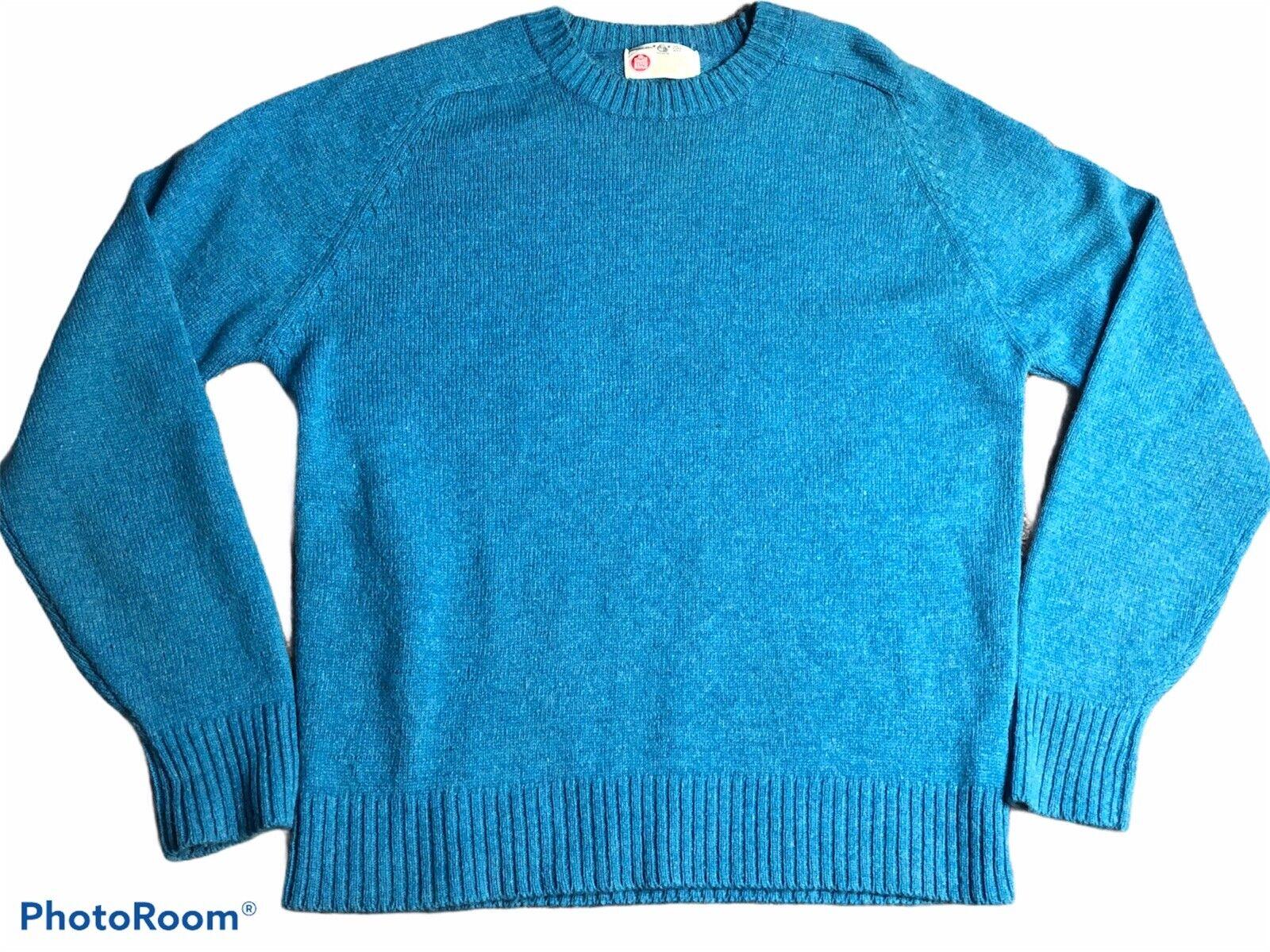 Vintage Kings Road 100% Pure Wool Sweater Sears 70s 80s XL (H3)