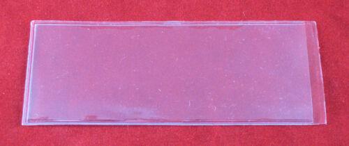 5 Vinyl Flips Sleeves Holders for 5 oz Silver or Gold Bars