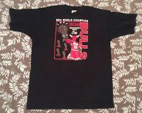 Vintage 1997 Chicago Bulls NBA Championship Tee Shirt sz XL