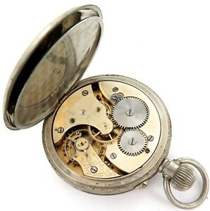 EARLY-1900s-J-M-WENDT-ADELAIDE-WENDT-S-LEVER-MENS-POCKET-WATCH-A-FIXER