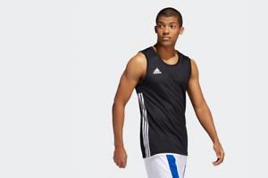 Details about adidas 3G Speed Reversible Jersey Black Men's Basketball Sport T-shirts - DX6385