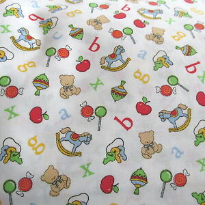 joanns baby cotton fabric nursery alphabet letter toss With fabric alphabet letters for nursery