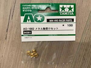 TAMIYA-94381-Mini-4WD-Metal-Bearing-Set-4pcs-AO-1002-Free-Shipping