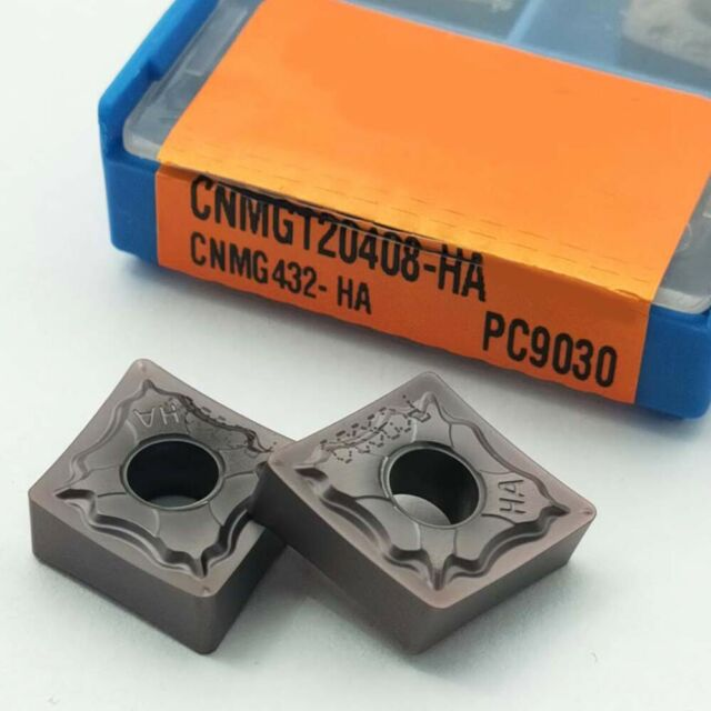 Toolholding Inserts 10pcs Set CNMG432-HA CNMG120408-HA CNC Turning Metalworking
