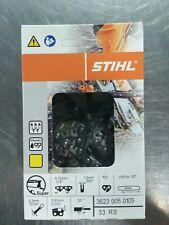 "3 Pack Stihl 36/"" Chainsaw Chain Loop 3672 005 0114 33RSLF 114 Drive Links"