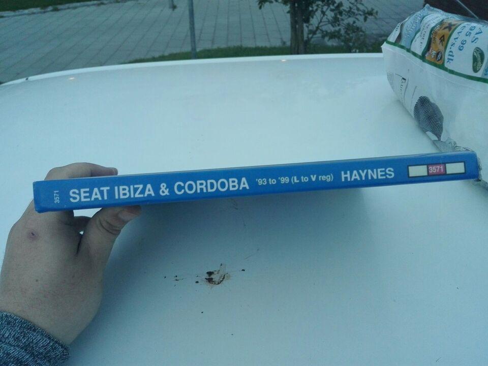 Reparationshåndbog, Haynes til Seat Ibiza og Cordoba