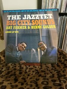 The-Jazztet-Big-City-Sounds-Original-Stereo-pressing-1961-Lps-672