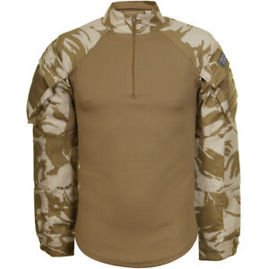 ARMY-TACTICAL-COMBAT-UNDER-BODY-ARMOUR-MENS-SHIRT-BRITISH-DPM-DESERT-CAMOUFLAGE