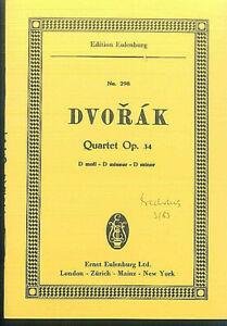DVORAK-String-Quartet-D-moll-Op-34-Studienpartitur