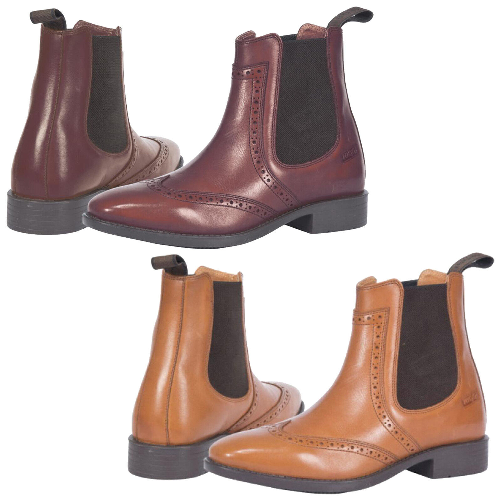 7a5db0df0a5 Toggi Adult Clark Jodhpur Equestrian Boots - Leather Dealer Chelsea Horse  Riding