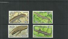FIJI SG1311-1314 SKINKS OF FIJI  SET MNH