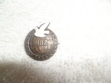 OLD CZECH INTERNATIONAL WOMAN'S DAY MDZ 1954 BADGE