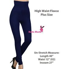 8ca28104239 item 7 Women High Waist Fleece Lined Thick Brushed Footless Leggings Pants  Plus Size -Women High Waist Fleece Lined Thick Brushed Footless Leggings  Pants ...